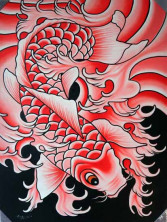 JAPANESE KOI RED