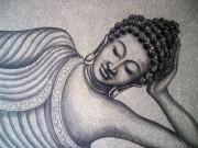 SAND SLEEPING BUDDHA