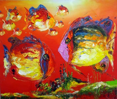 OIL FISH RED