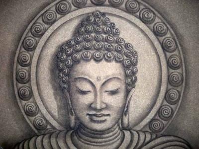 SAND BUDDHA
